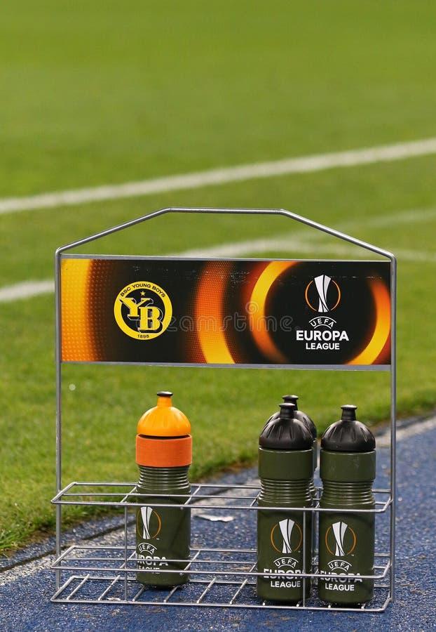 UEFA-Europa-Liga: FC Dynamo Kyiv V Young Boys lizenzfreies stockfoto