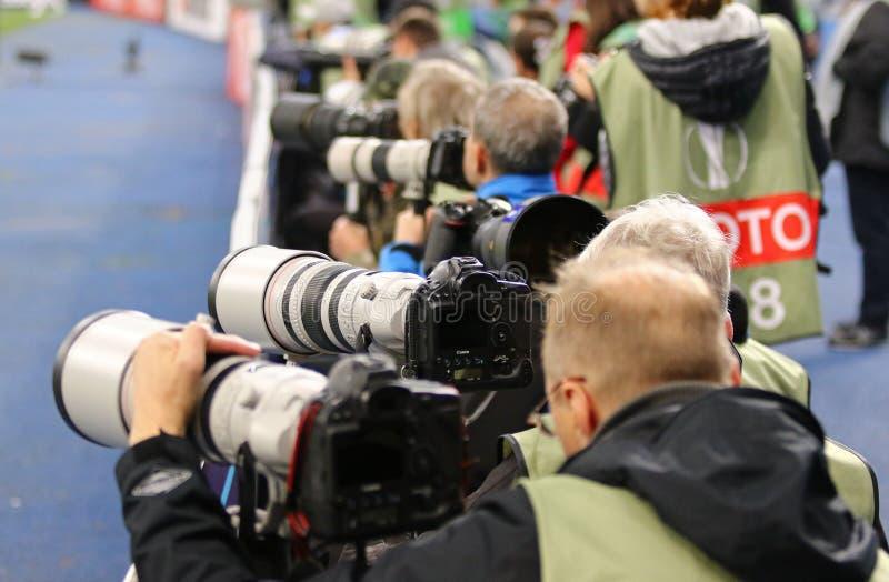 UEFA-Europa-Liga: FC Dynamo Kyiv V Young Boys stockfotografie