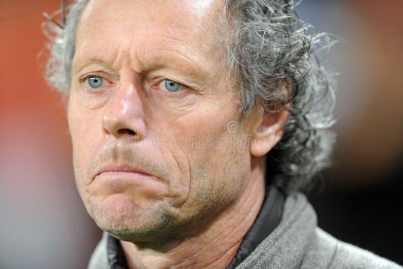 UEFA Europa liga grupy sceny Legii Warszawa klub Brugge zdjęcie royalty free