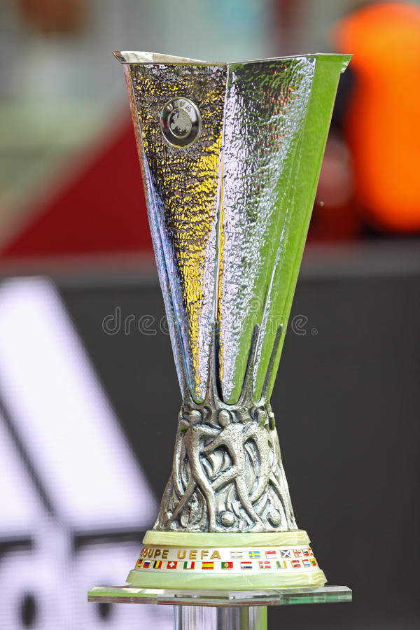 UEFA Europe Laegue Trophy Cup royalty free stock image