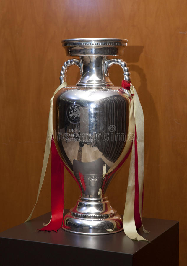 Download UEFA European Football Championship Trophy Editorial Photography - Image: 28634697