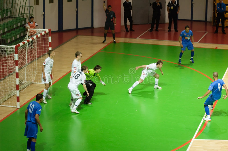 UEFA Futsal Cup 2008-2009 stock photos