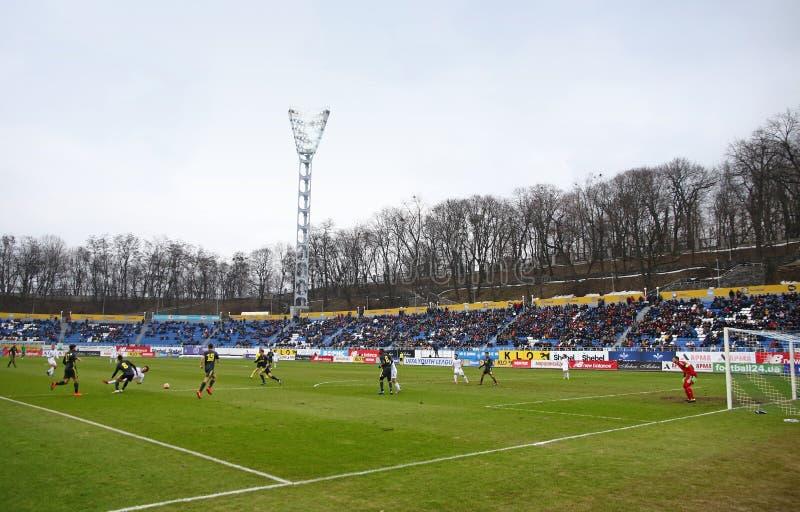 UEFA młodości liga: FC dynamo Kyiv v Juventus w Kyiv, Ukraina obraz royalty free