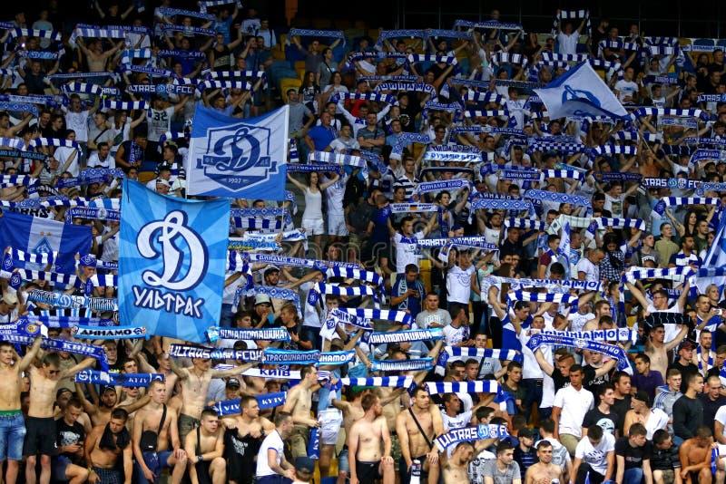 UEFA-Meister-Liga: FC Dynamo Kyiv V Young Boys stockfoto