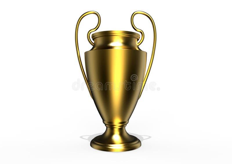 Uefa Trophy concept vector illustration