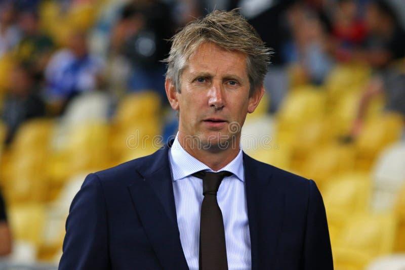 UEFA verdedigt Ligabeslissingsmatch: FC dynamo Kyiv v Ajax royalty-vrije stock foto's