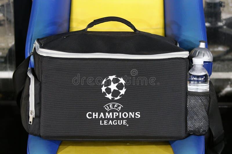 UEFA verficht Punktspiel-FC Dynamo Kyiv V Besiktas stockbilder