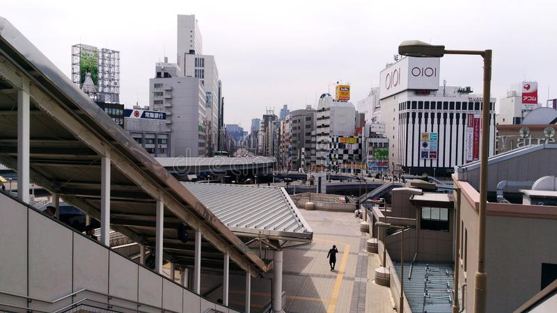 Ueno sation royaltyfria bilder