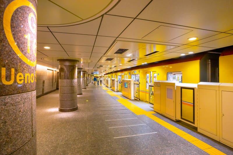 Ueno station i Tokyo, Japan arkivbilder