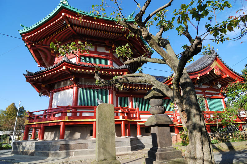 Ueno Temple, Tokyo stock photography