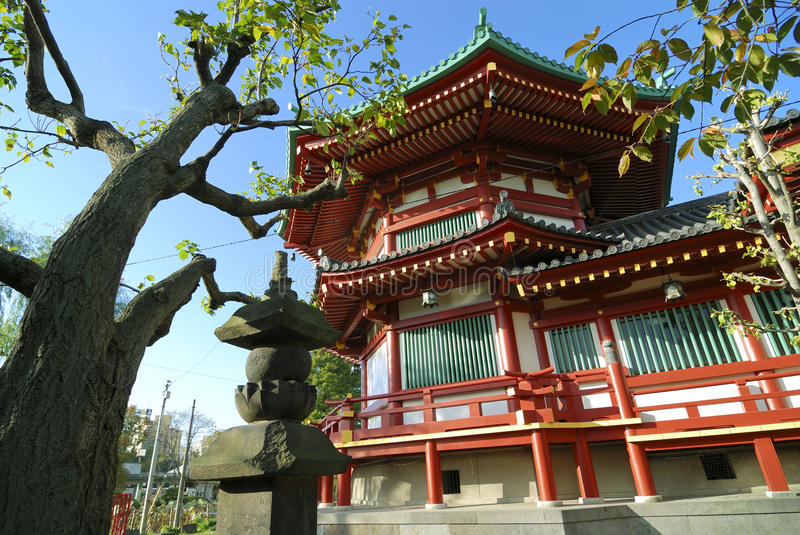 Ueno Temple, Tokyo royalty free stock images