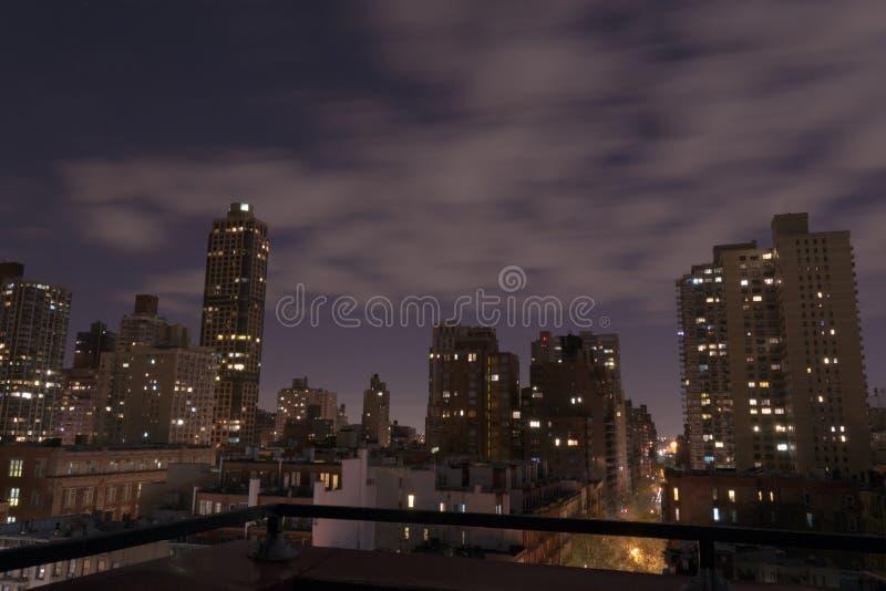UES at night royalty free stock image