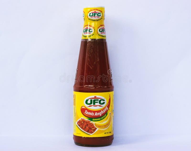 UFC Tamis Anghang banana ketchup zdjęcie royalty free