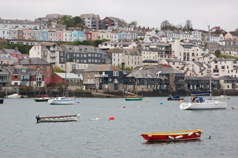 Ufer, das in Cornwall Großbritannien wohnt stockfotografie