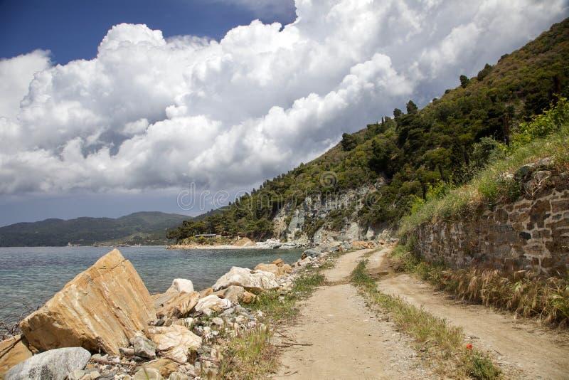 Ufer vom Meer stockfotografie