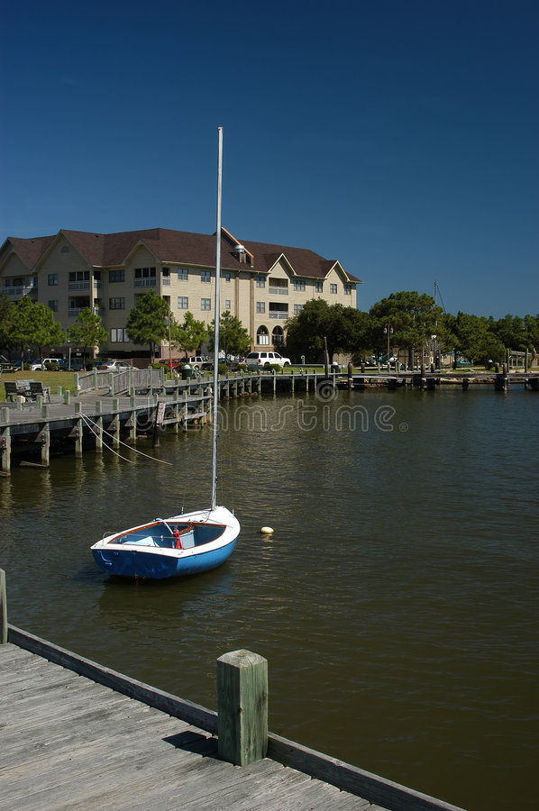 Download Ufergegend stockbild. Bild von dock, roanoke, carolina, küsten - 27779