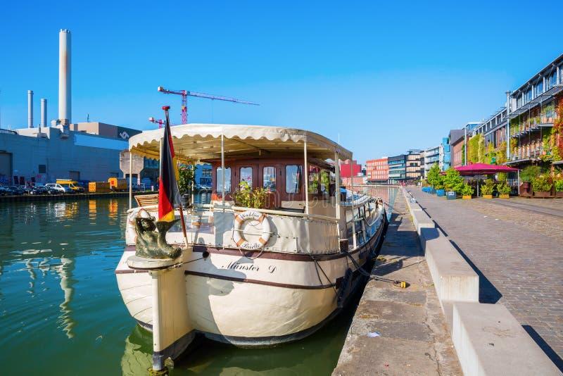 Ufergegend Muenster in Muenster, Westfalen, Deutschland lizenzfreie stockbilder