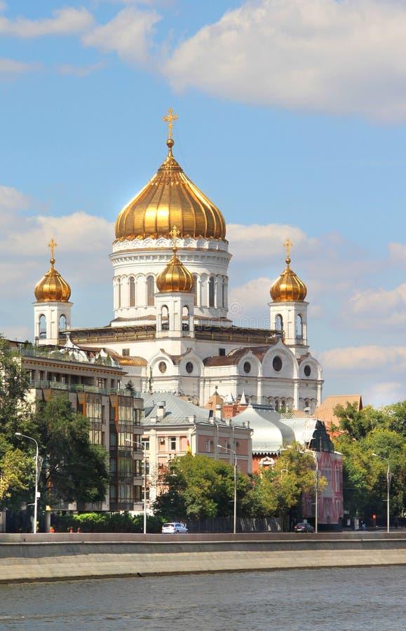 Ufergegend von Moskau-Stadt stockfotografie