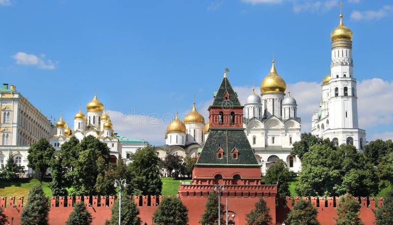 Ufergegend von Moskau-Stadt stockbild