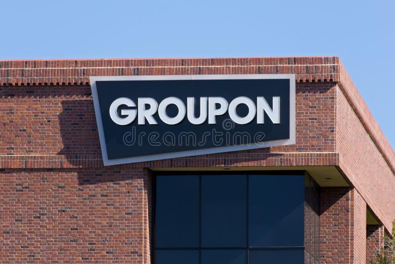 Uffici di Groupon in Silicon Valley fotografia stock