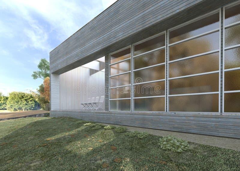 Uffici o appartamenti moderni in un giardino fertile for Appartamenti moderni immagini