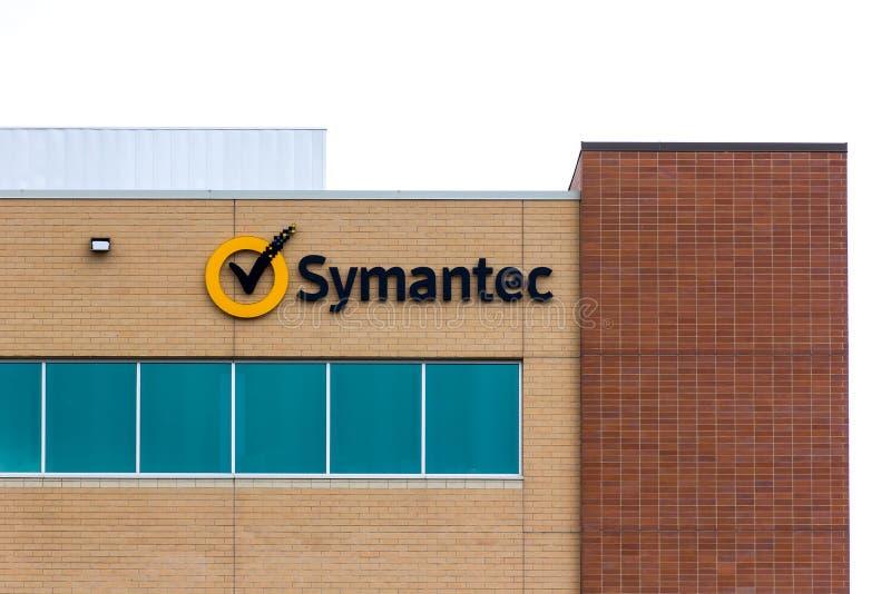 Uffici regionali di Symantec immagini stock
