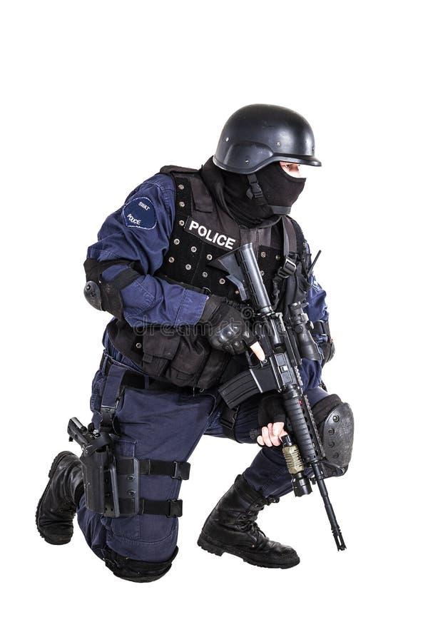 Ufficiale dello SCHIAFFO immagini stock libere da diritti