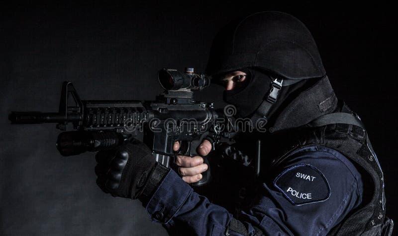Ufficiale dello SCHIAFFO fotografia stock