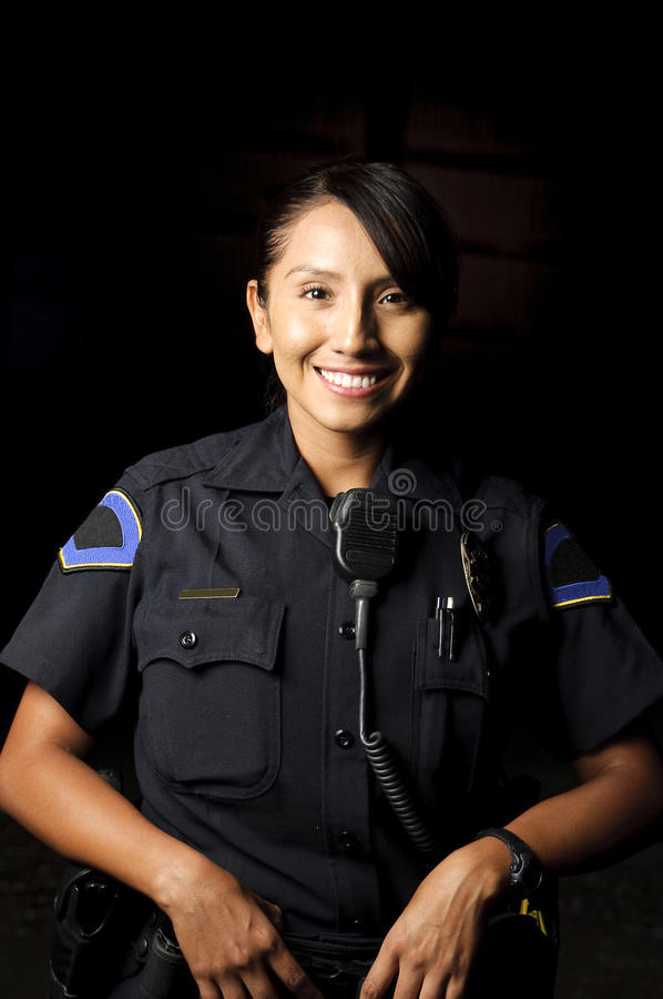 Ufficiale di polizia immagini stock libere da diritti