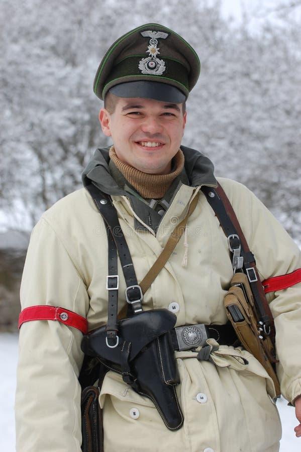 Ufficiale tedesco di WW2 fotografia stock