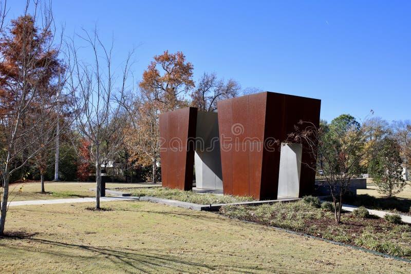 Ufficiali caduti Memorial Park, Memphis Arkansas ad ovest immagini stock libere da diritti