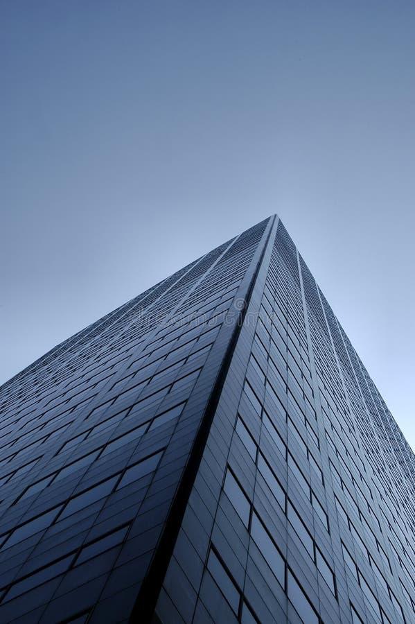 Ufficio Blu Windows 2 Immagini Stock
