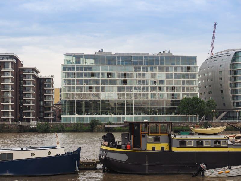 Ufficio dei partner e promuova a Londra immagine stock libera da diritti
