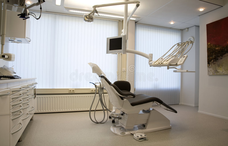 Ufficio del dentista, immagine stock