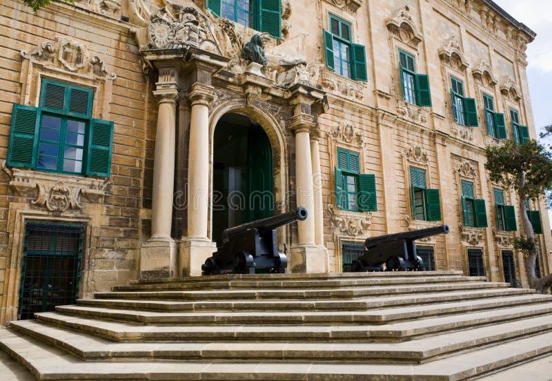Ufficio Primo : Ufficio del primo ministro valletta malta immagine stock immagine