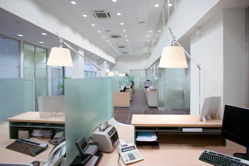 Ufficio della Banca fotografie stock libere da diritti