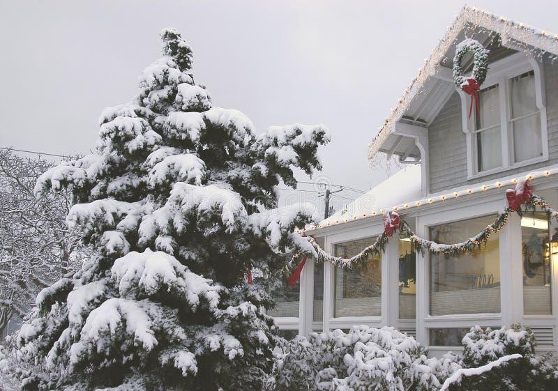 Ufficio di inverno immagini stock libere da diritti