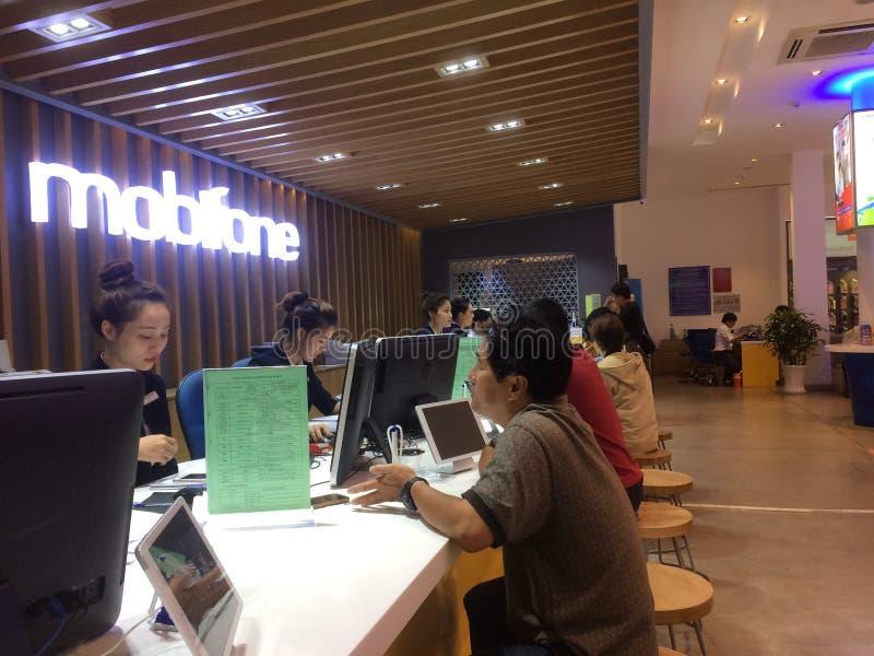 Ufficio di Mobifone Vietnam fotografie stock libere da diritti