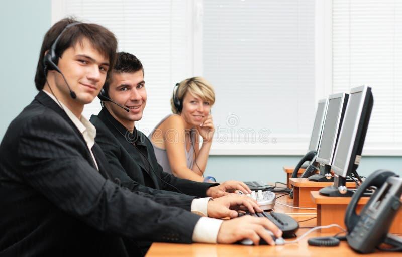 Ufficio di servizio di assistenza al cliente immagini stock libere da diritti