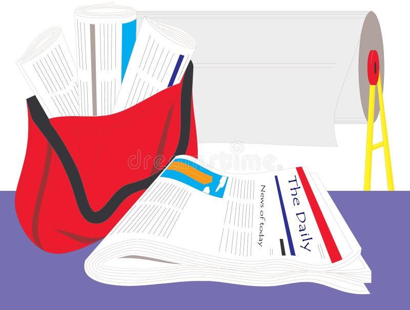 Ufficio Di Stampa E Personale Editoriale Fotografie Stock