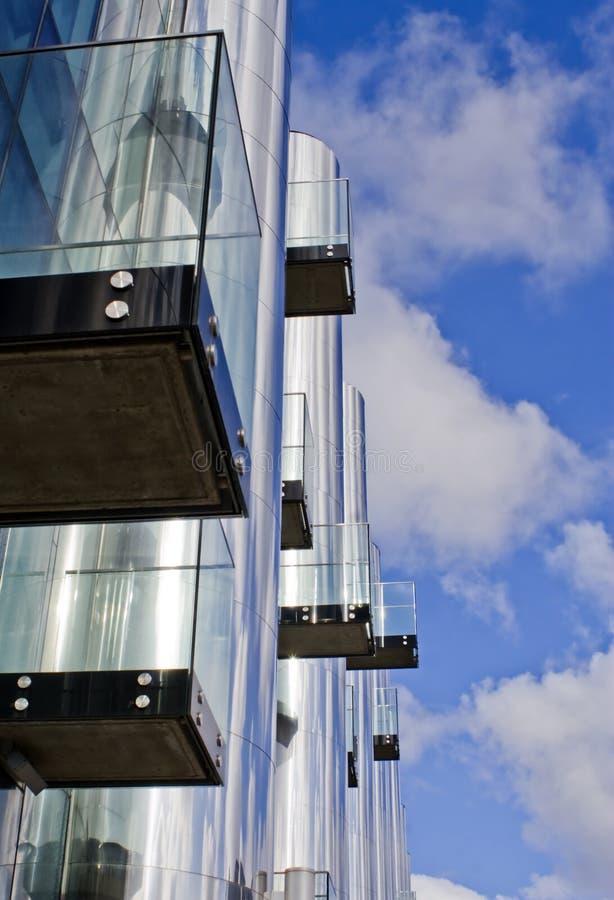 ufficio futuristico di costruzione 3 immagini stock libere da diritti