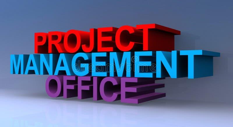 Ufficio gestione progetti fotografia stock libera da diritti