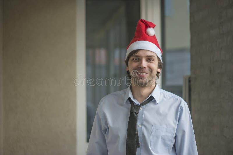 Ufficio il Babbo Natale immagine stock libera da diritti