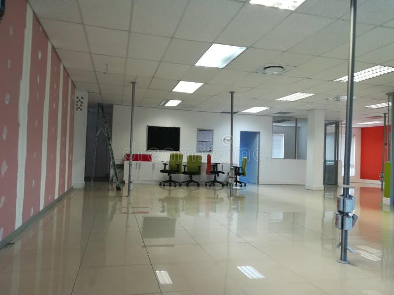 Ufficio libero o spazio ufficio abbandonato senza la gente [9] fotografia stock libera da diritti