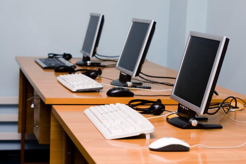 Ufficio o interiore del centro di addestramento fotografie stock libere da diritti