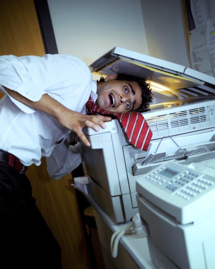 Ufficio pazzesco fotografia stock libera da diritti