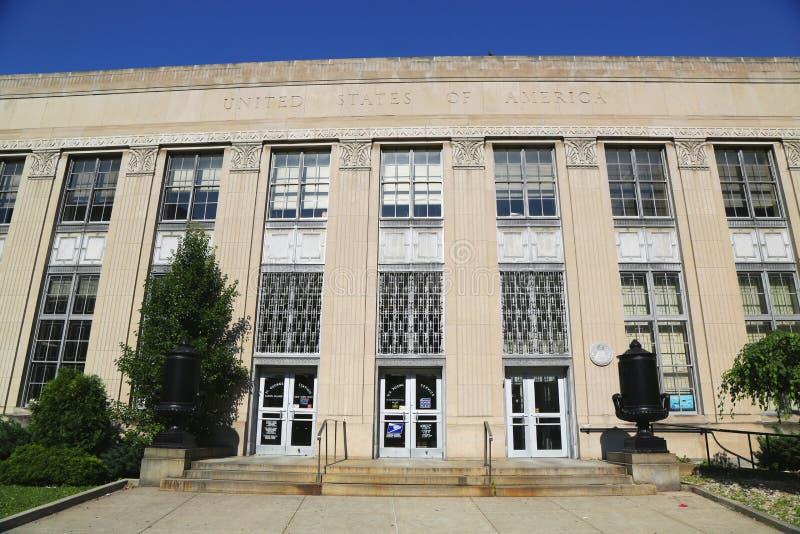 Ufficio postale degli Stati Uniti in Staten Island fotografie stock