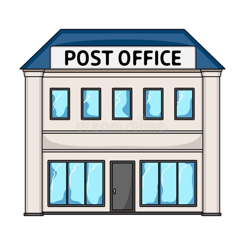 Ufficio Postale La Singola Icona Del Postino E Della Posta
