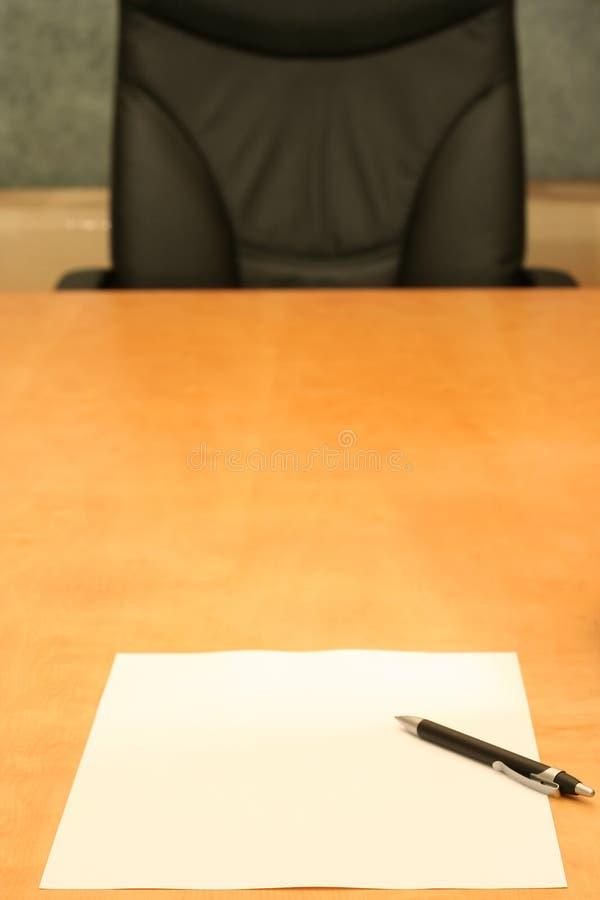 Ufficio: vuoto immagine stock libera da diritti