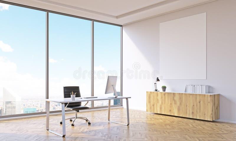 Ufficio vuoto immagini stock libere da diritti